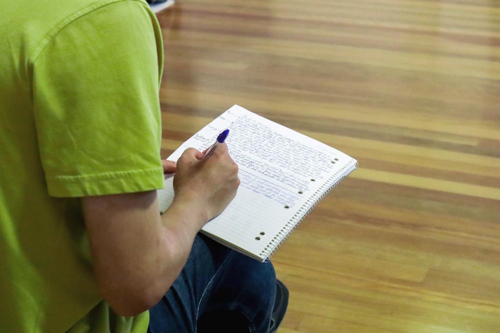 autism writing class
